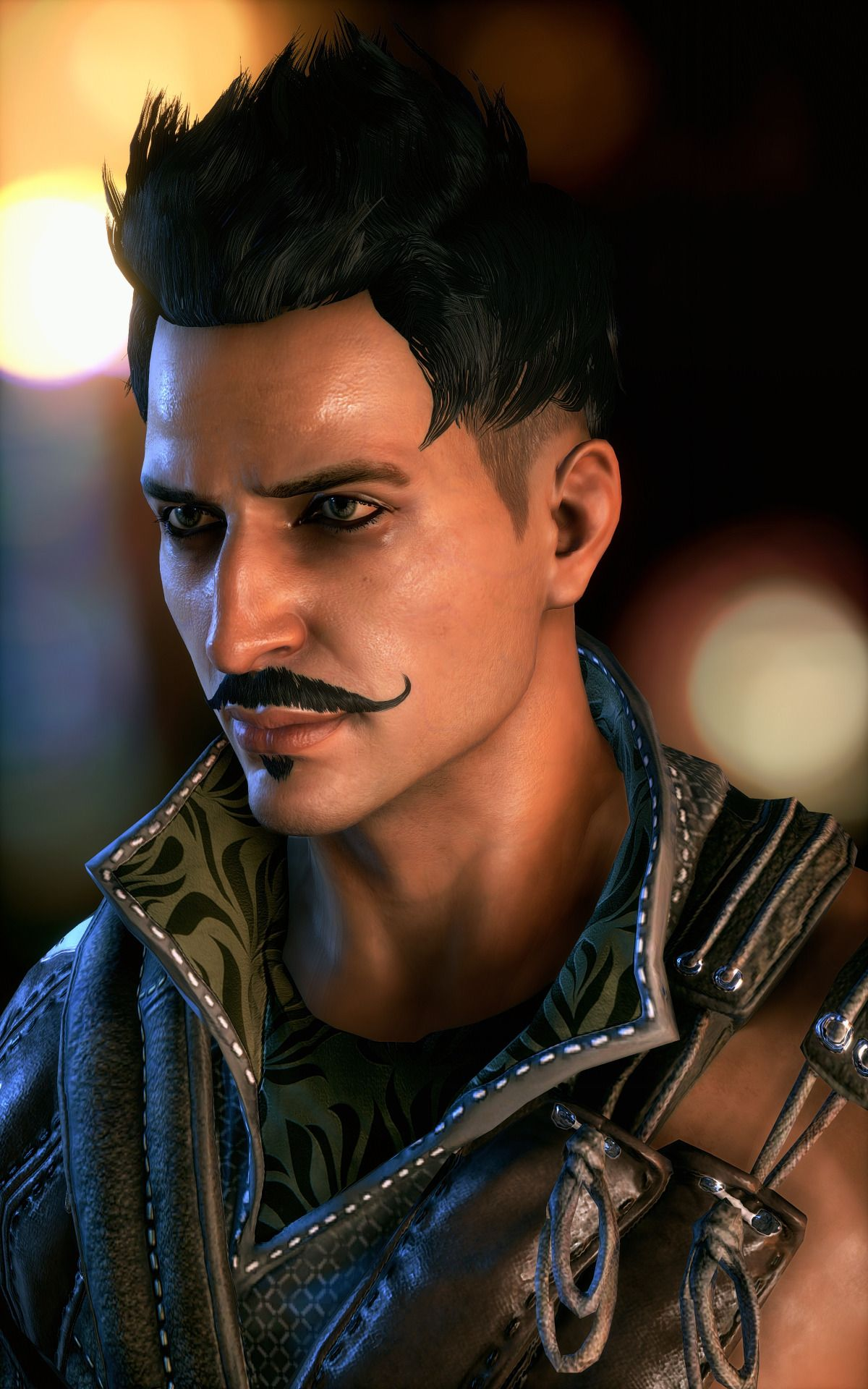 Dorian Pavus maybe a videogame character but the things I would do to this man if he were real.