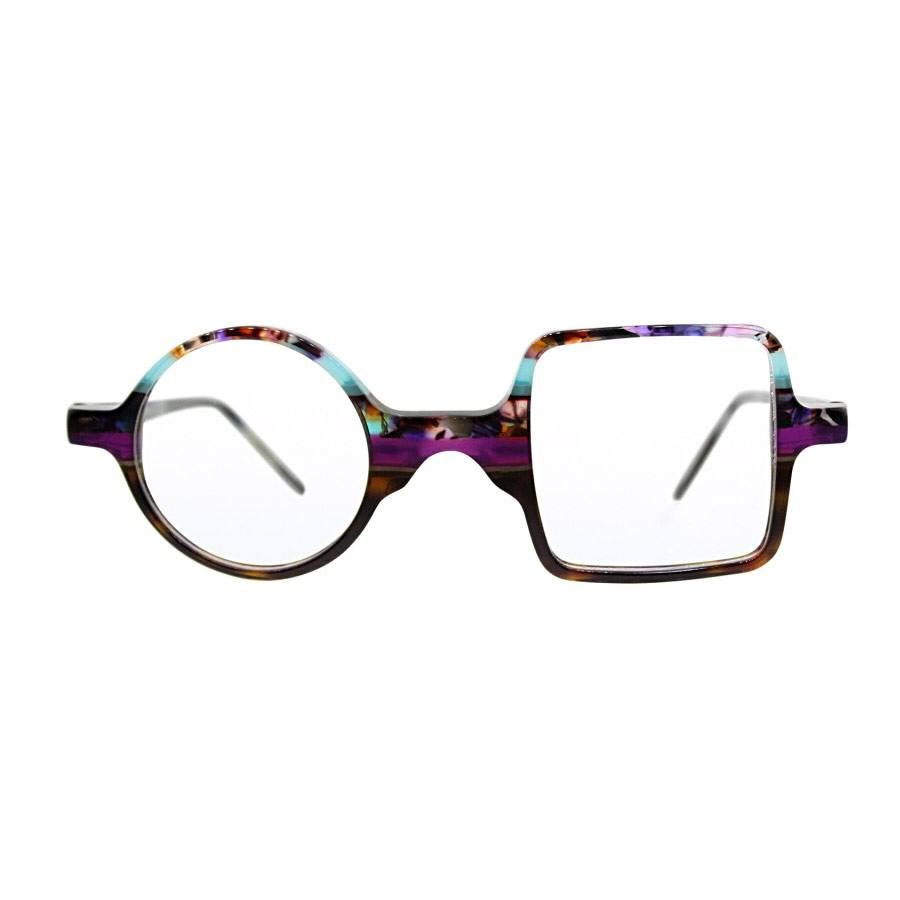 c85cf4b1302   150 purple galaxy glasses - circle square shape - funky bayadere stripes