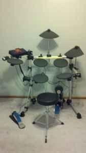 Yamaha Dtxplorer Electronic Drum Set 450 South Point Ohio Electronic Drums Drum Set Drums