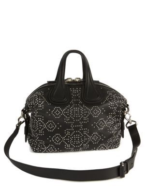 d3fce1387d85 Givenchy - Nightingale Small Studded Leather Satchel