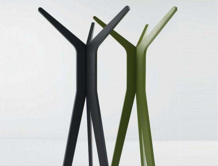 Attractive Modern Coat Rack Part - 13: Unusual Shaped Standing Wood Coat Rack Hi By Diamantini And Domeniconi -  Unique Modern Coat Rack Designs | Hol | Pinterest | Coat Racks, Living Room  Ideas ...