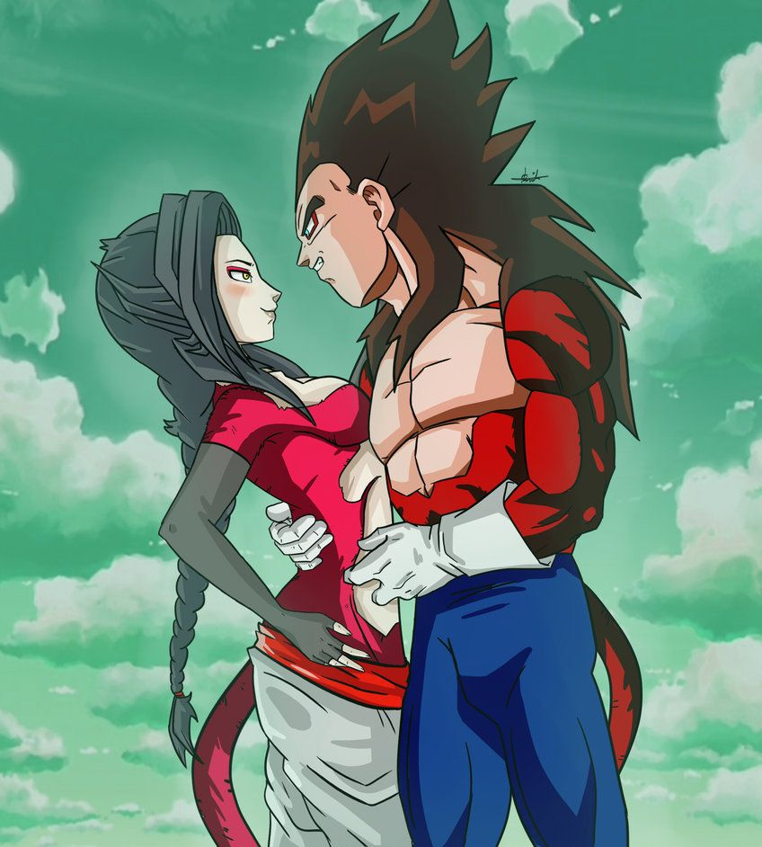 SSJ4 Vegeta X SSJ4 Chigo by ChigoSenpai | dragon ball oc ...