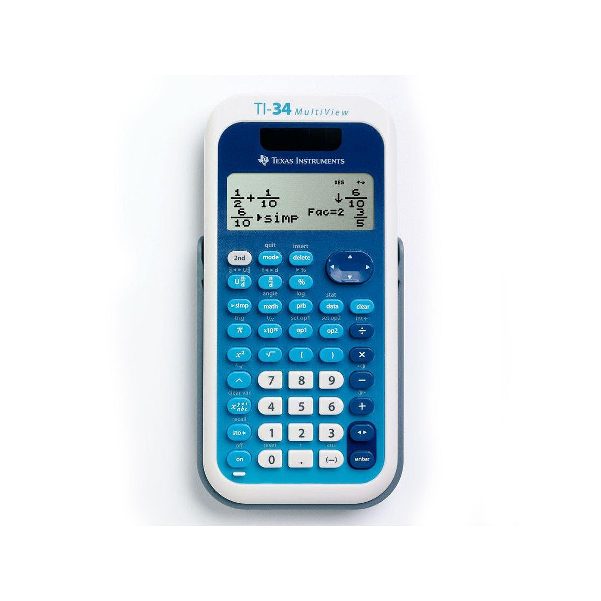 Texas instruments ti 34 multi view calculator multicolor texas instruments ti 34 multi view calculator multicolor falaconquin