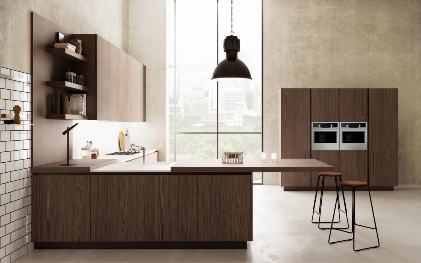 Breakfast Top Slide Out Breakfast Bar Counter Top Kitchen Construction Kitchen Countertops Modern Kitchen Design