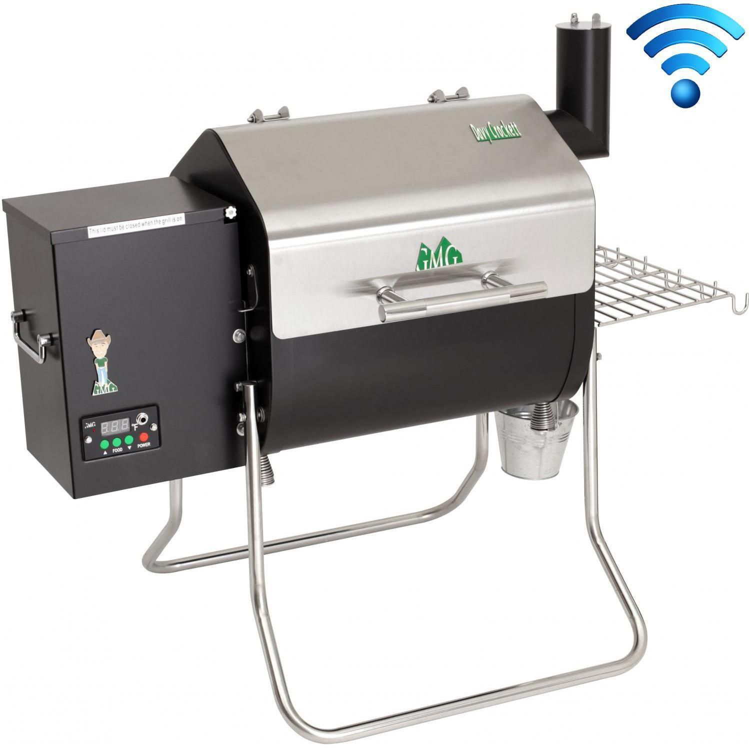 Green Mountain Grills Davy Crockett Wifi Controlled Portable Pellet Grill With Bonus Package Dc Grill Package Bbqguys Portable Pellet Grill Wood Pellet Grills Green Mountain Grills