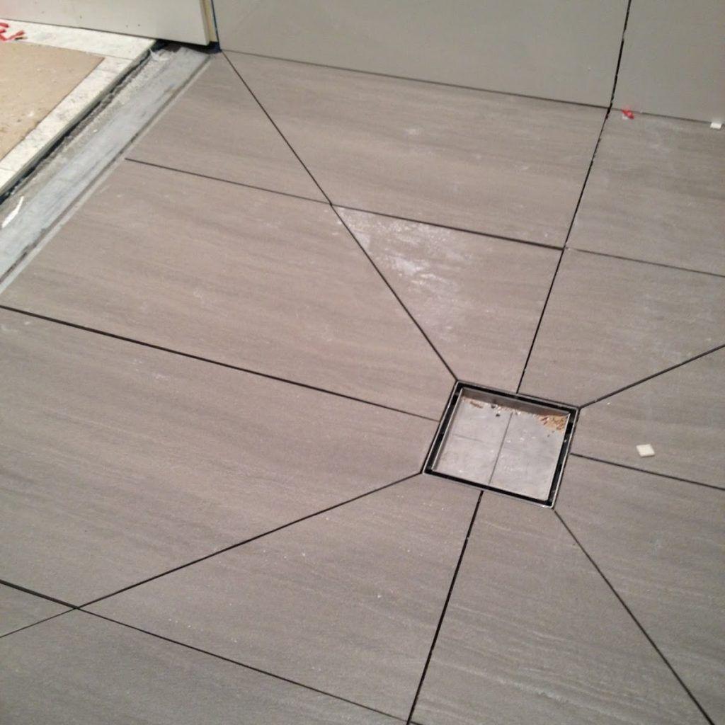 Tiling A Shower Floor With Large Tiles Shower Floor Shower Tile