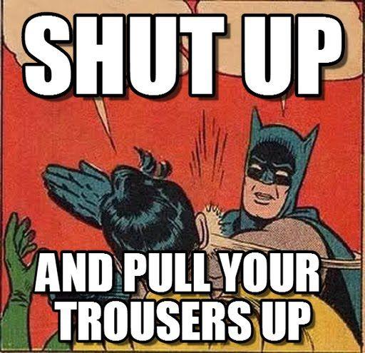 Image Result For Batman Robin Blank Memes  Slap The Robin