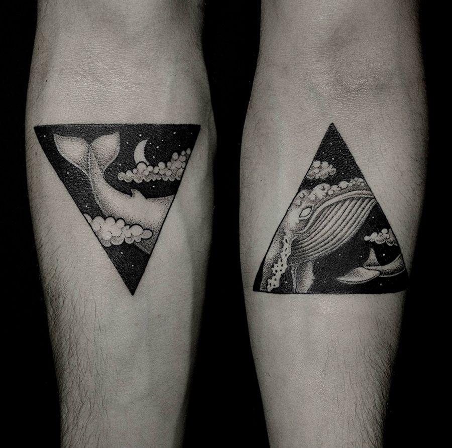 Brezinski Ilya Artnau Tattoos Triangle Tattoos Creative Tattoos