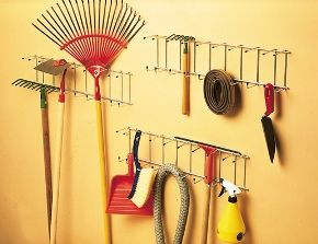 crochets porte outils porte outils mural crochet rangement mottez jardin pinterest. Black Bedroom Furniture Sets. Home Design Ideas