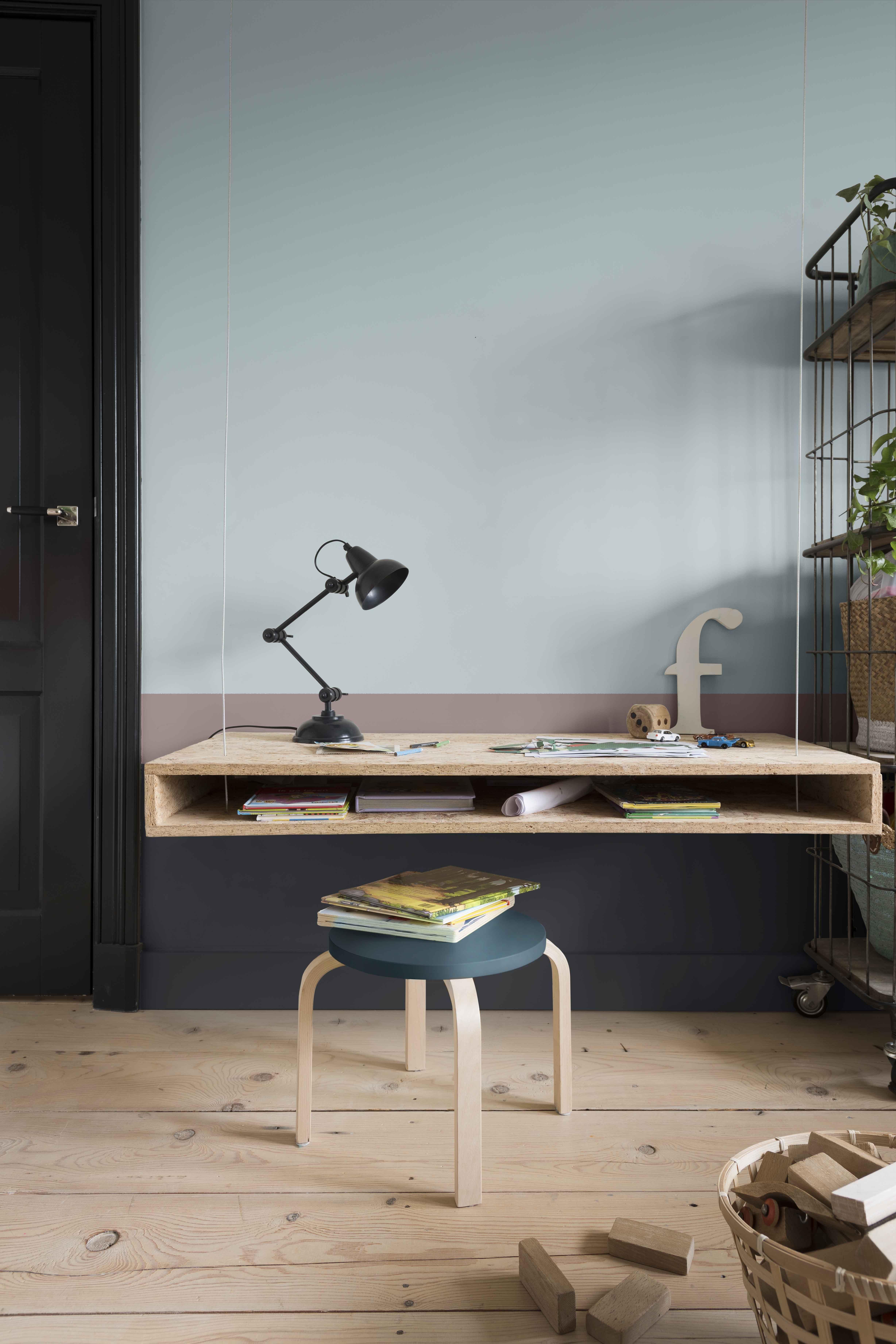 indigo home office. HeartWood A Welcome Home Flexa Kinderkamerinspiratie Cobalt Night Faded Indigo Office