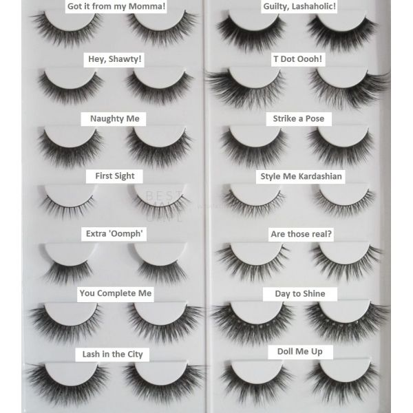 Effortless No Trim Natural Lash Collection by velour lashes #12