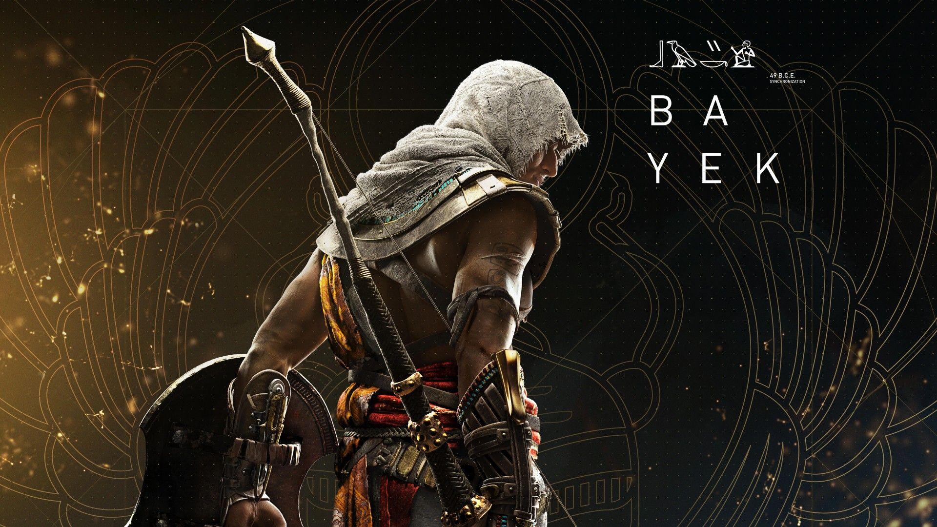 Bayek Assassin S Creed Origins 4k 8k Assassin S Creed Wallpaper Assassins Creed Assassins Creed Origins