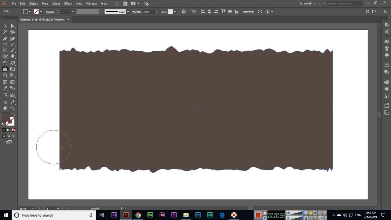Wrinkle Tool - Adobe Illustrator CC 2019 | Adobe Illustrator | Adobe