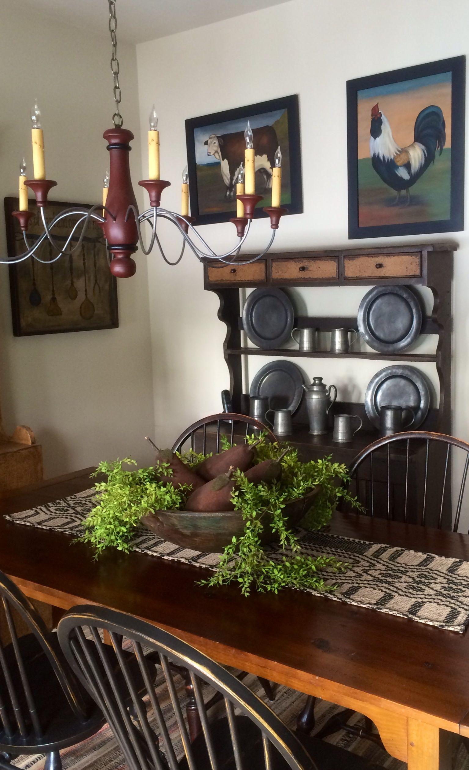 Primitive Aka Prim Style Ideas Primitive Decorating Country Primitive Dining Rooms Country Decor