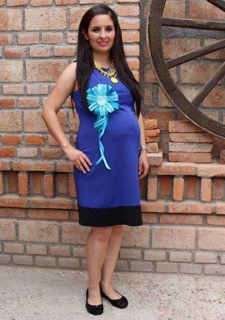 47146adc1 Embarazo 24 semanas: el vestido de baby shower | VEstidos de fiesta ...