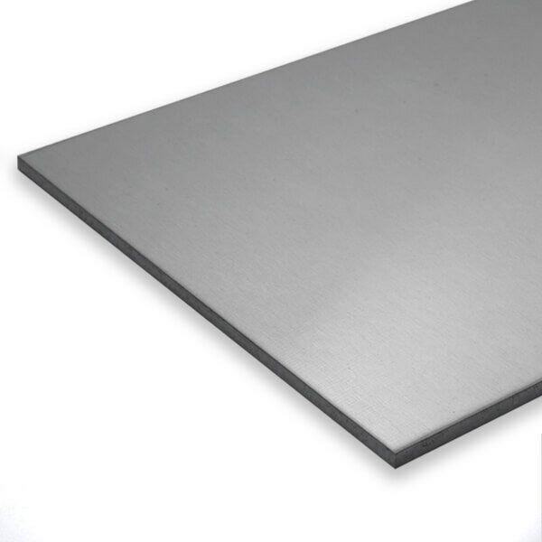 Tole D Aluminium 15mm Almg3 Aluminium Feuille Plateau En Plaque Alu Platte Tole Inox Acier Inox Acier Inoxydable