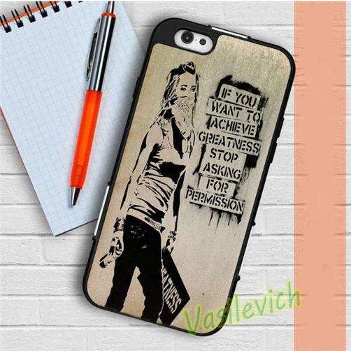 Banksy Art case cover for iphone 4 4s 5 5s se 5c 6 6s 7 6 plus 6s plus 7 plus #FG300