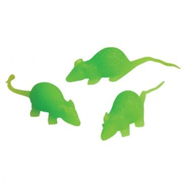 Glow Stretchy Mice Party Supply Store Novelty Toys Carnival