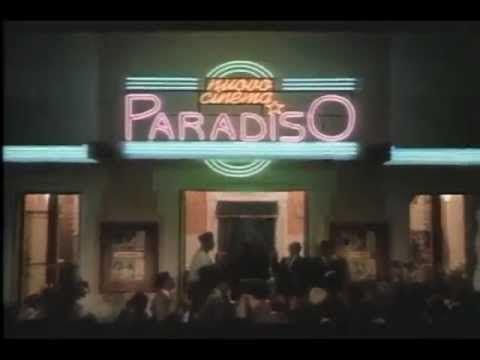 Cinema Paradiso Original Trailer 1988 Cinema Paradiso Cinema Foreign Language Film