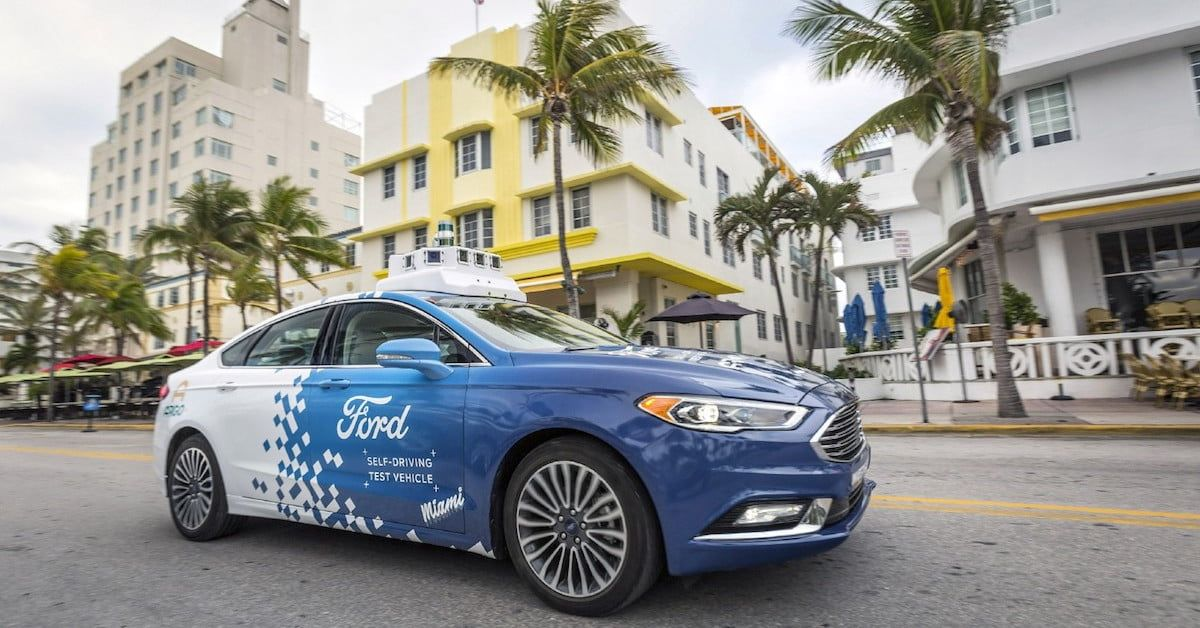 Ford Determined to Launch Selfdriving Car Service 'at