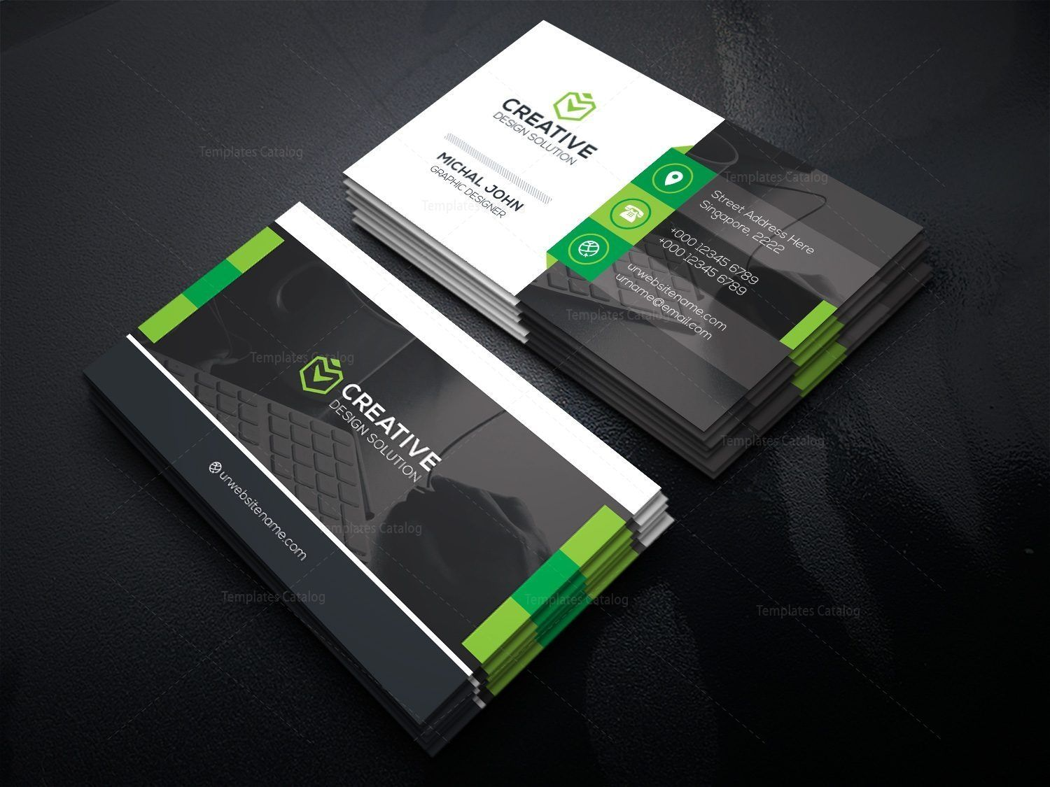 Office Business Card Template Card Graphic Templates Printing Business Cards Business Card Template Corporate Business Card Design