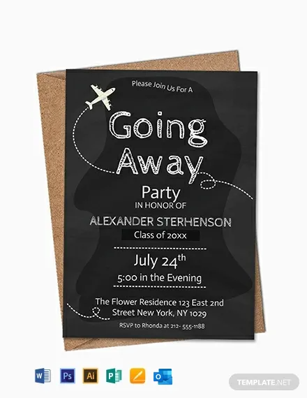 1415 Free Invitation Templates Customize Download Template Net Party Invite Template Going Away Party Invitations Farewell Party Invitations