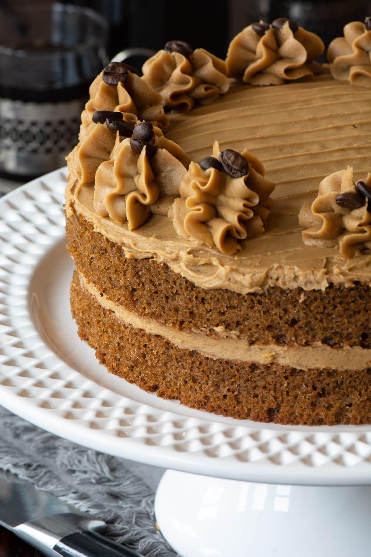 Easy Coffee Cake A delicious allinone coffee sponge