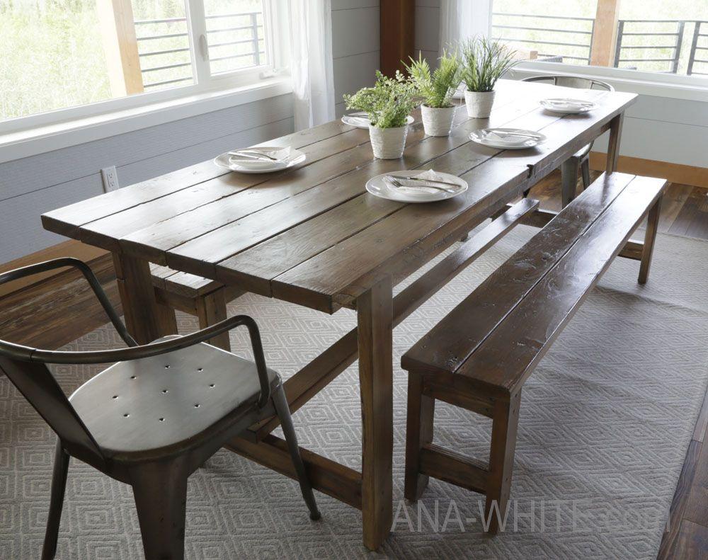 Diy Dining Room Set   Farmhouse table plans, Farmhouse ...