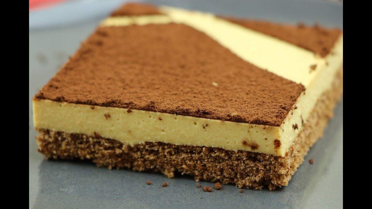 كيكة الشامواه او الشمواه حلى سهل وسريع بدون فرن Chamois Cake مع رباح محم Desserts Food Cake Decorating Tips