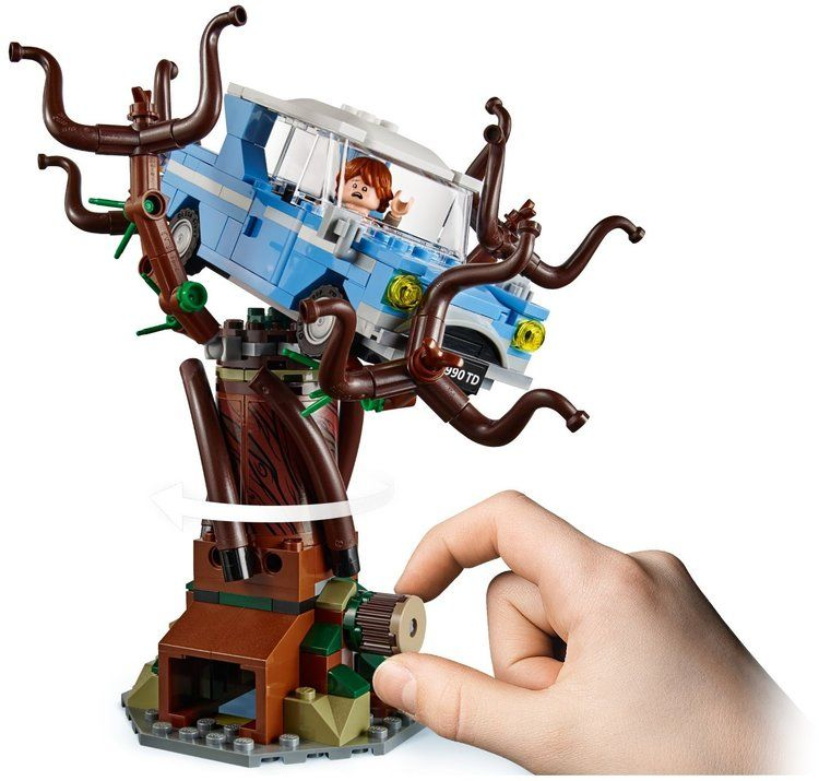 75953 Hogwarts Whomping Willow With Images Harry Potter Lego