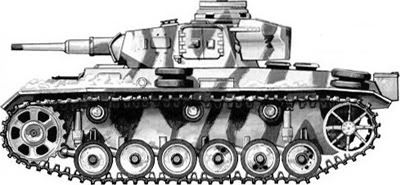 Panzer III 5th PzDiv.Eastern Front Winter 1941-42