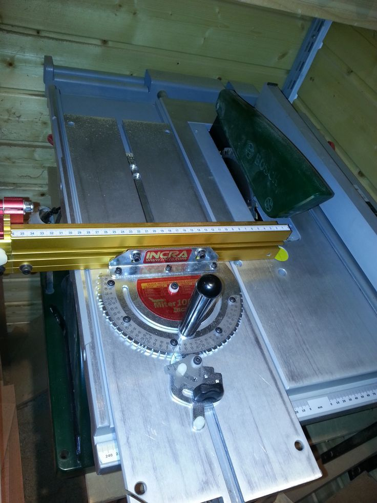 Bildergebnis Fur Bosch Tischkreissage Woodworking Table Saw Table Saw Sled