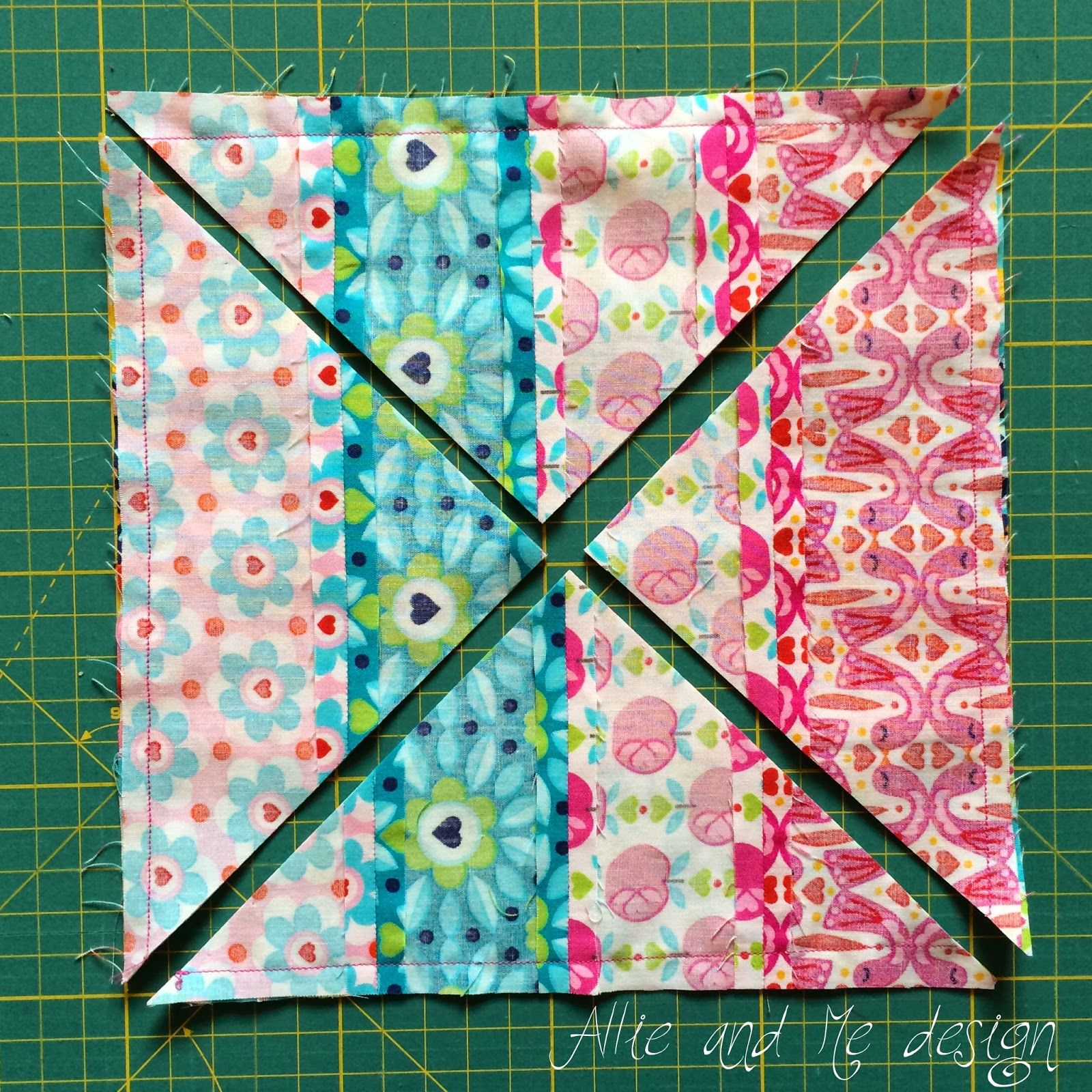 Allie & Me design: Jelly Roll Magic | Patchwork/Quilt ...