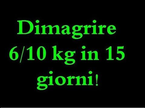 dieta proteica per dimagrire 10 kg in 15 giorni