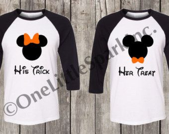 a972a58fdc2c Disney halloween couple trick or treat boo to you disney halloween shirts  disney halloween couple shirt disney halloween family shirt