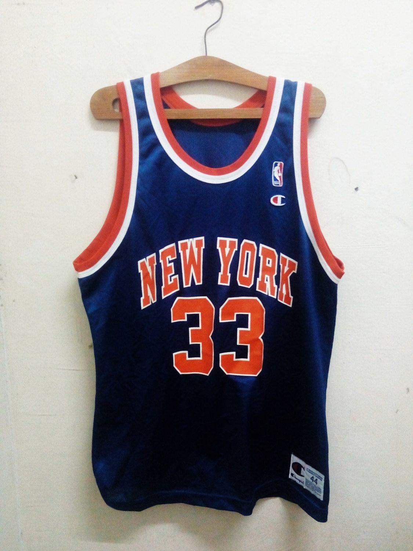 best cheap 358aa 198cf Sale Rare !! Vintage NBA Basketball Patrick Aloysius Ewing ...
