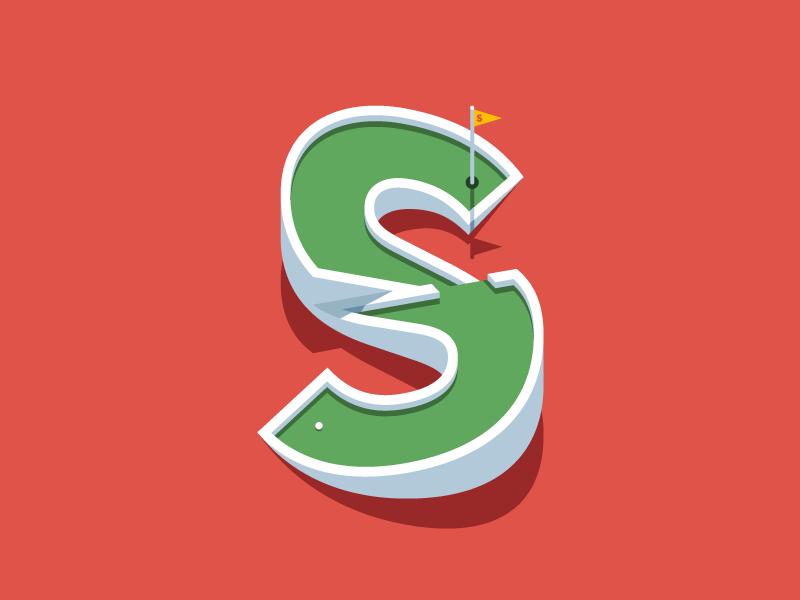 S Mini Golf Golf Logo Inspiration Mini Golf S Logo Design