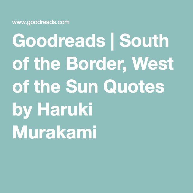 Virtute Sun Quotes Quotes Haruki Murakami