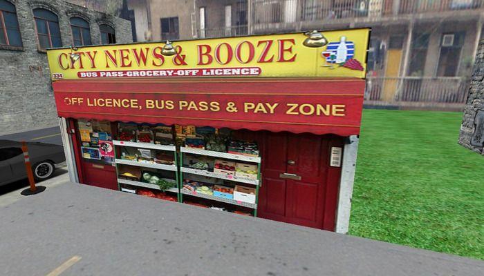 #142 City News & Booze Grocery- 1 Prim Building by Kushinator