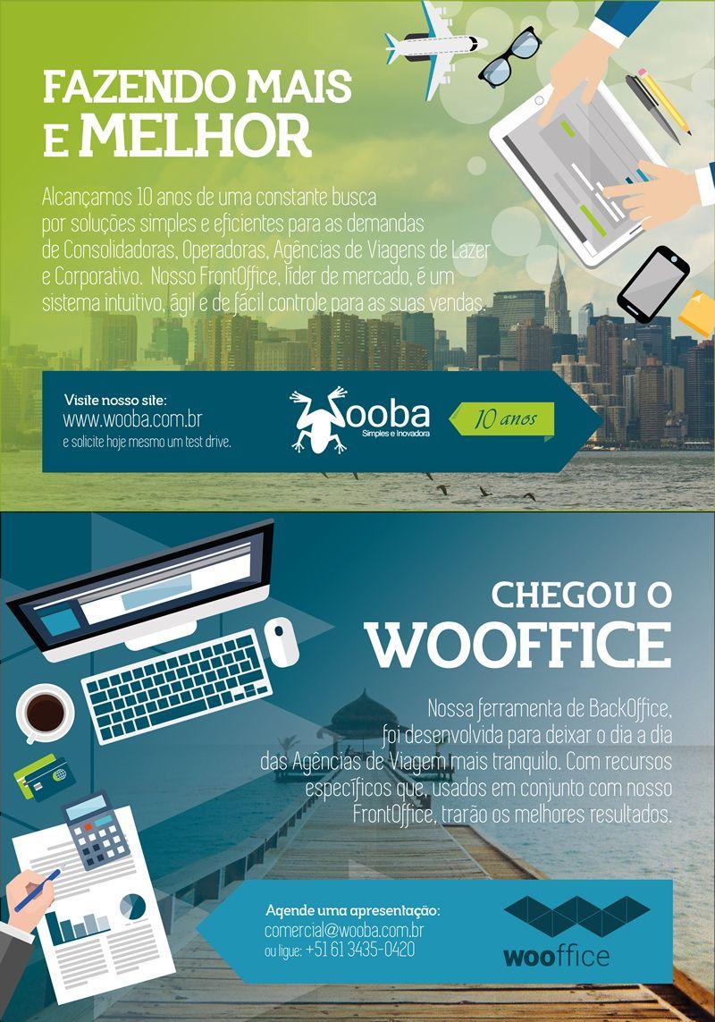 Redação e Arte. Folheto Frente e Verso para distribuição na 43ª ABAV Expo.