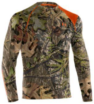 El principio norte Mañana  Under Armour® Scent Control T-Shirts for Men - Long Sleeve | Bass ...