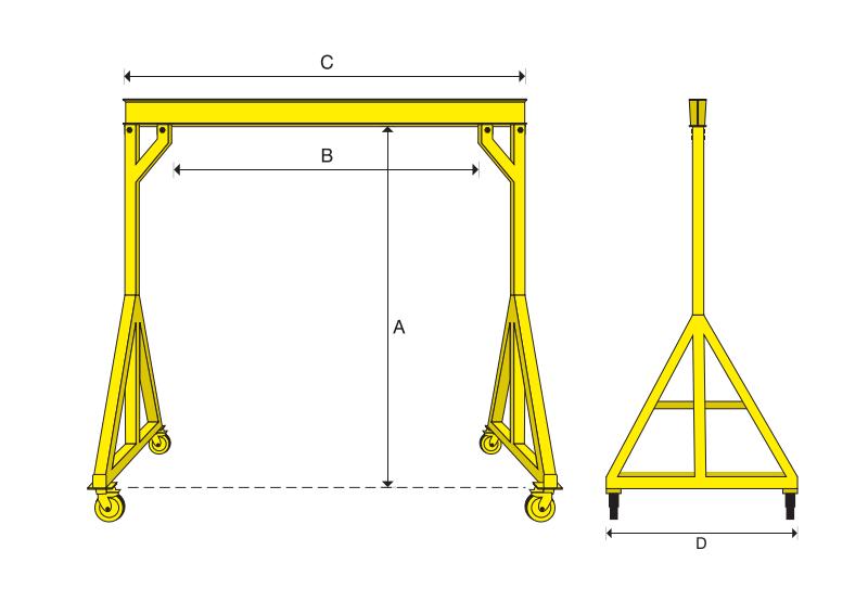 how to build a hoist frame
