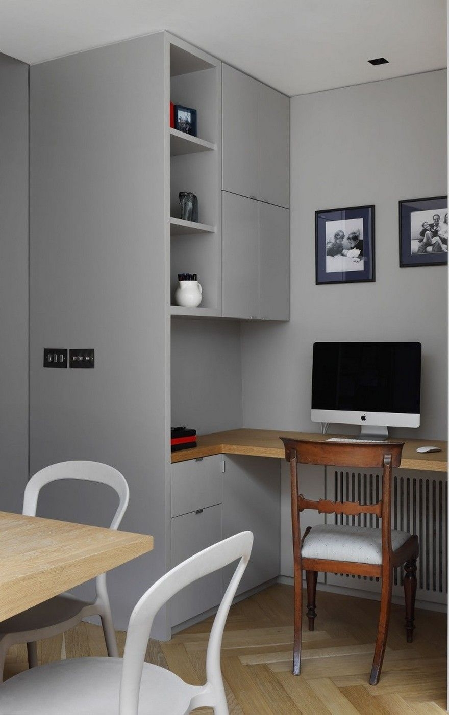Small 10x10 Study Room Layout: Victorian Family House In London Gets Fresh Redesign