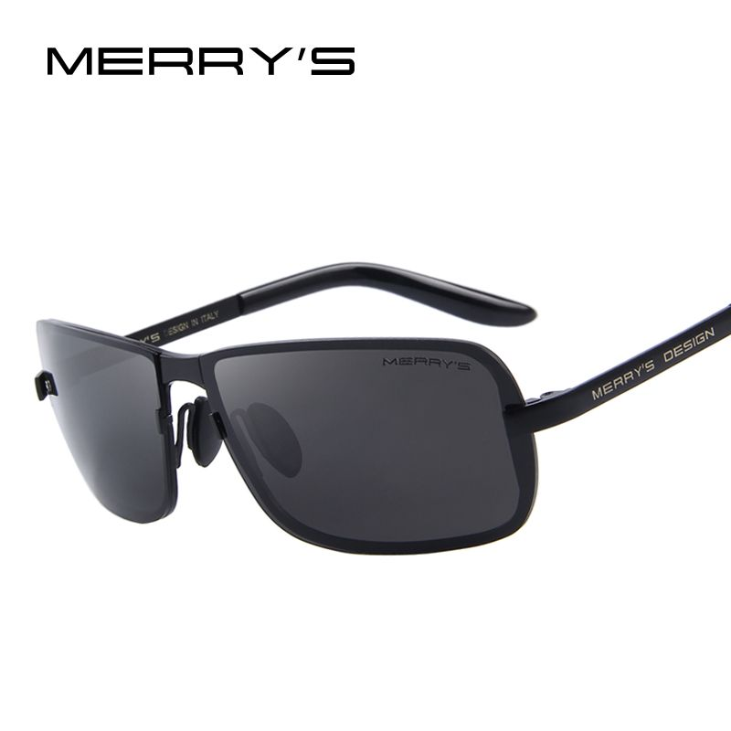 082450ea643f0 MERRY S Classic Brand CR-39 Sunglasses Men HD Polarized Sun Glasses for Mens  Fashion Luxury Design Shades UV400 S 8722 man cave    AliExpress  Affiliate s ...