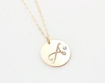 Sideways tiny circle necklace personalized initial pendant sideways tiny circle necklace personalized initial pendant aloadofball Image collections