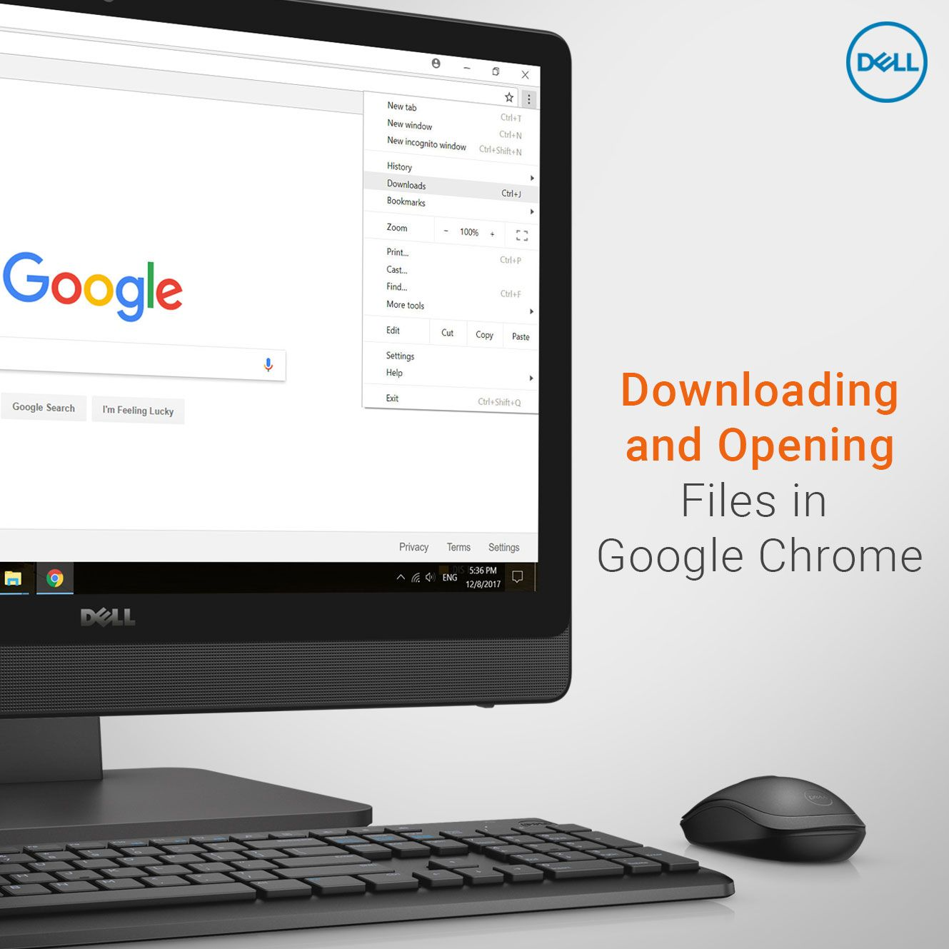 Downloading, and opening, files is made very easy in Google Chrome