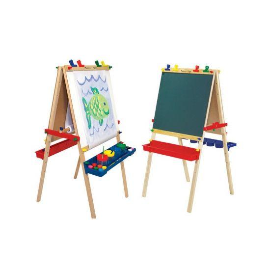 Luxe Schildersezel Voor Kinderen Dubbelzijdige En