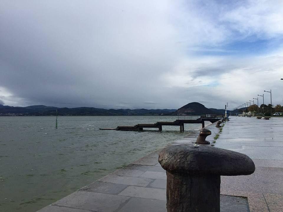 Bonitas imágenes que nos van dejando estos días de lluvia. #santoñateespera #turismosantoña