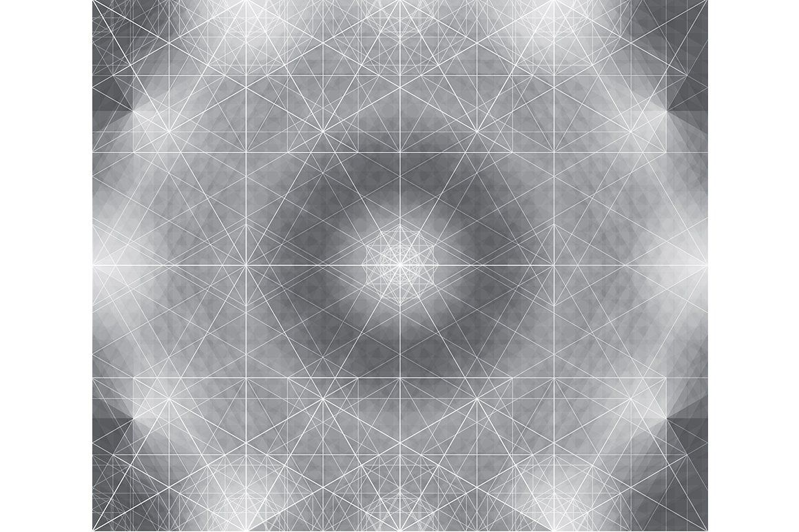 Abstract Geometric Vector Pattern. Useful as a background