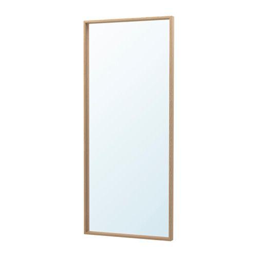 nissedal miroir effet ch ne blanchi pinterest miroir ikea chene blanchi et ikea. Black Bedroom Furniture Sets. Home Design Ideas
